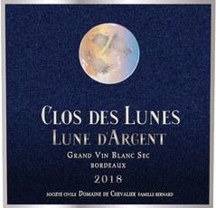 Clos des Lunes Lune d'Argent Bordeaux Blanc 2018