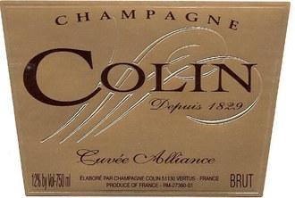Colin Champagne Alliance Brut