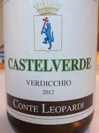 Conte Leopardi Castelverde Verdicchio 2012
