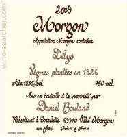 Daniel Bouland Morgon Les Delys 2018