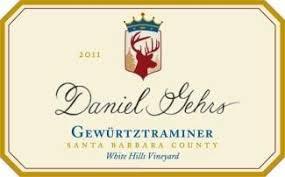 Daniel Gehrs Gewurztraminer White Hills Vineyard 2011
