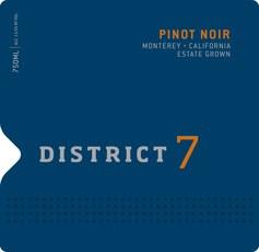 District 7 Pinot Noir 2016