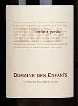 Domaine des Enfants L'Enfant Perdu 2012