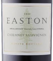 Easton Cabernet Sauvignon 2012