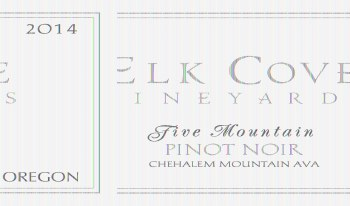 Elk Cove Pinot Noir Five Mountain 2014