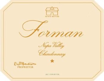 Forman Chardonnay Napa Valley 2019