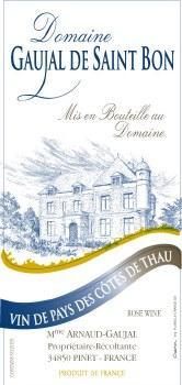 Gaujal de Saint Bon Rosé VDP des Cotes de Thau