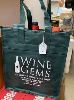 Go Green 6-Btl Reusable Wine Bag