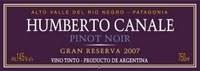 Humberto Canale Pinot Noir Gran Reserva 2015