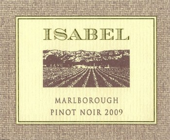 Isabel Pinot Noir 2009