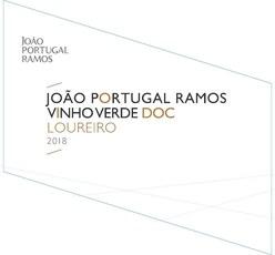 Joao Portugal Ramos Vinho Verde 2019
