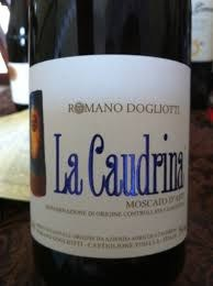 La Caudrina Moscato d'Asti 2019 500ml