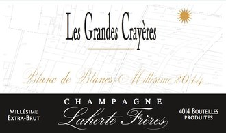 Laherte Freres Champagne Les Grandes Crayeres Blanc de Blancs Extra-Brut 2015