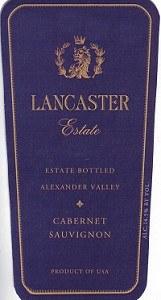Lancaster Estate Cabernet Sauvignon 2013