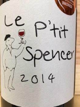 Le P'tit Spencer Corbieres 2014