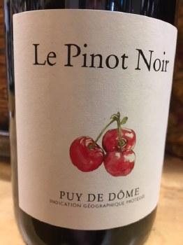 Saint Verny Le Pinot Noir 2017