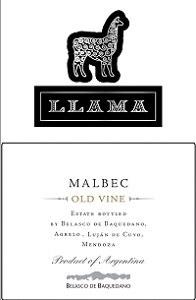 Llama Old Vine Malbec 2018