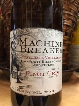 Machine Breaker Pinot Gris 2015