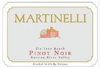 Martinelli Pinot Noir Zio Tony Ranch 2018