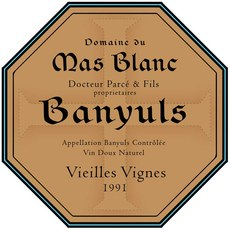 Mas Blanc Banyuls Vieilles Vignes 1991 375ml