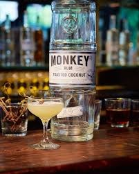 Monkey Rum Toasted Coconut 750ml