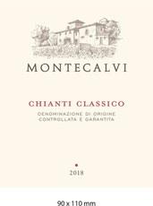 Montecalvi Chianti Classico 2018