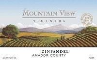 Mountain View Zinfandel 2009