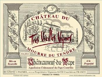 Chateau du Mourre du Tendre Chateauneuf-du-Pape 2010