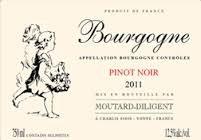 Moutard-Diligent Bourgogne Pinot Noir 2015
