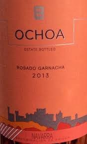 Ochoa Rosado Garnacha 2013