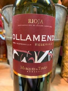 Ollamendi Rioja Reserva 2012