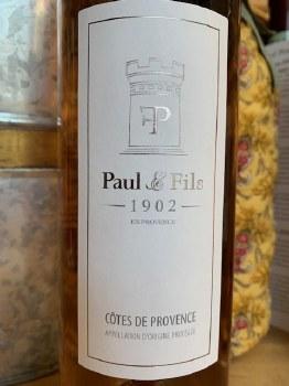 Paul & Fils Rosé 2019