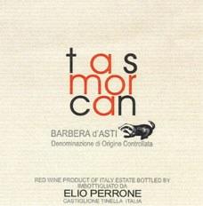 Elio Perrone Barbera d'Asti Tasmorcan 2016