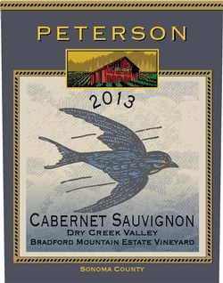 Peterson Cabernet Sauvignon Bradford Mountain Estate Vineyard 2013