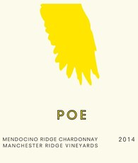 Poe Chardonnay Manchester Ridge Vineyards Mendocino Ridge 2016