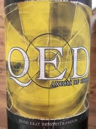 Rasa QED Axiom of Choice Cabernet Franc 2013