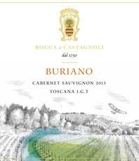 Rocca di Castagnoli Cabernet Sauvignon Buriano 2013