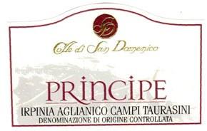 San Domenico Principe Irpinia Aglianico 2011