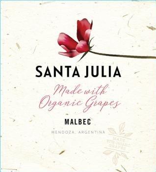 Santa Julia Malbec Organic 2020