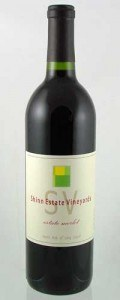 Shinn Estate Vineyards Merlot 2014