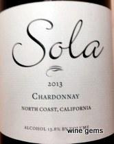 Sola Chardonnay 2013