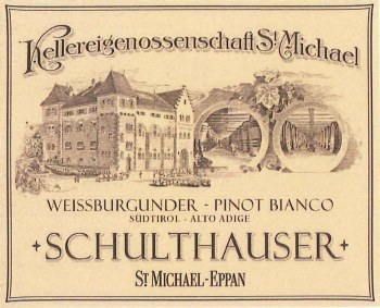 St Michael-Eppan Pinot Bianco Schulthauser 2013