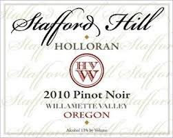 Stafford Hill Pinot Noir 2010