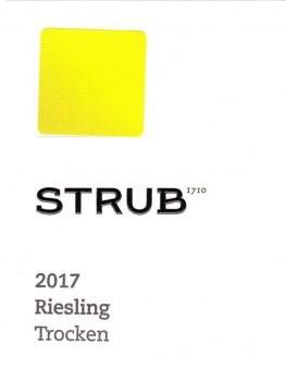 Strub Riesling Estate Trocken 2017