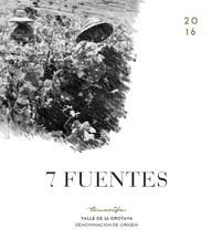 Suertes del Marques 7 Fuentes 2017