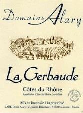 Domaine Alary Cotes du Rhone La Gerbaude 2018