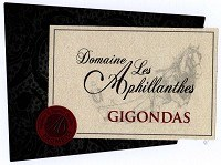 Domaine les Aphillanthes Gigondas Promesse 2015