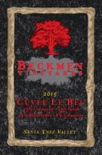 Beckmen Cuvee Le Bec 2015