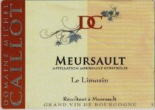 Caillot Meursault Le Limozin 2013