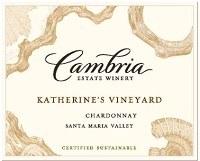 Cambria Chardonnay Katherine's Vineyard 2018
